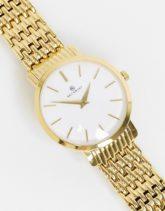 Accurist - Goldene Armbanduhr