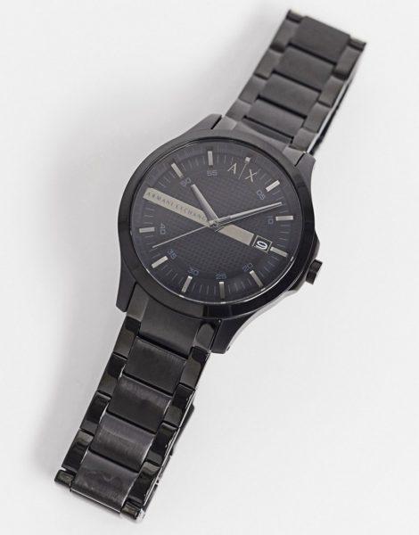 Armani Exchange - AX2104 Hampton - Schwarze Armbanduhr