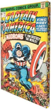"Art for the home Leinwandbild ""CAPTAIN AMERICA"", Fantasy"