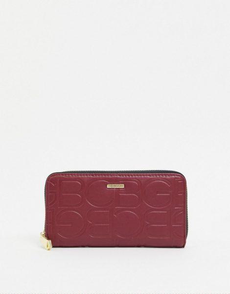 BCBGeneration - Rosalie - Brieftasche mit Rundum-Reißverschluss-Rot