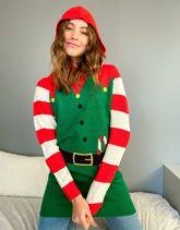 Brave Soul - Elf - Weihnachtspullover-Grün
