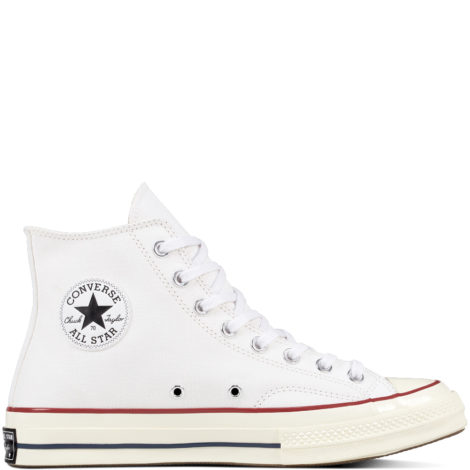 Chuck 70 Classic High Top Red, White