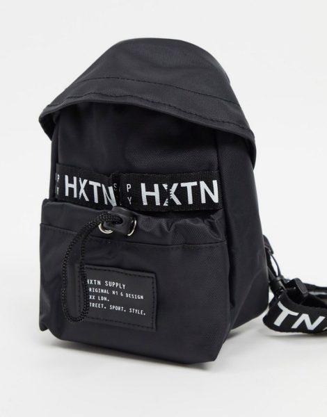 HXTN - Supply Prime - Schwarzer Mini-Backpack