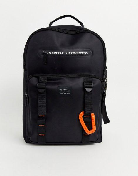 HXTN Supply - Prine - Schwarzer Backpack