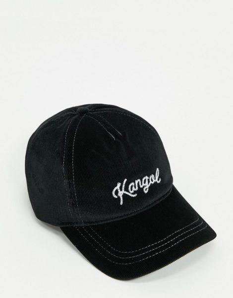 Kangol - Schwarze Baseballkappe