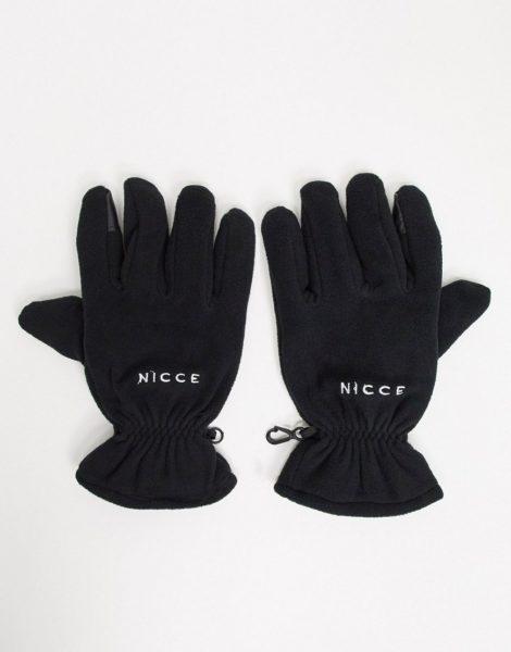 Nicce - Weiche Handschuhe in Schwarz