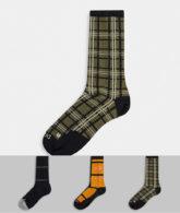 Nike - SB - Socken im 3er Pack-Mehrfarbig
