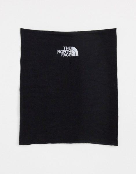 The North Face - Schwarzer, nahtloser Schal für den Winter
