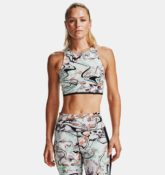 Under Armour Damen UA Breathelux Marble Sport-BH Schwarz LG