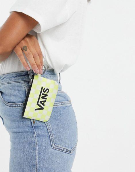 Vans - Gelbe Geldbörse und Schlüsselanhänger