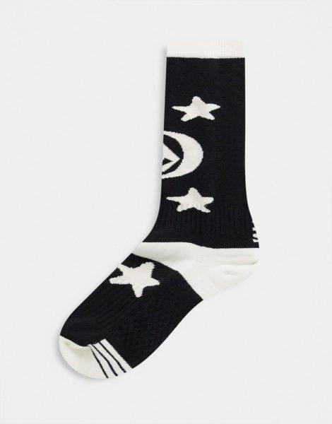 Volcom - Synth Moon - Grüne Socken