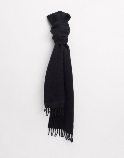 Weekday - Orbit - Schwarzer Schal