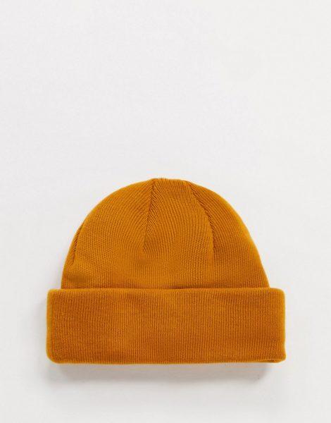 ASOS DESIGN - Mini-Fischermütze in Orange