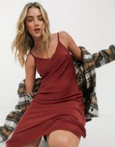 AllSaints - Tierney - Trägerkleid in Rosa