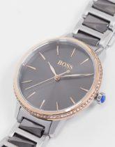Boss - Signature - Armbanduhr 1502569-Grau