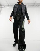 Calvin Klein Jeans - Established 1978 -Baggy-Jeans-Schwarz