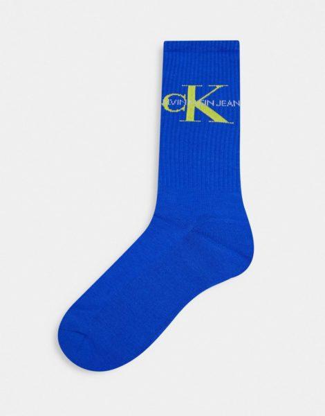 Calvin Klein - Socken mit Logo in Blau