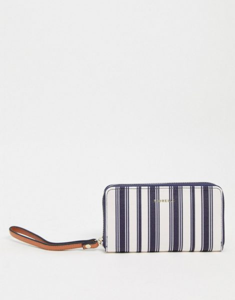 Fiorelli - Finley - Geldbörse mit Handgelenkriemen und nautischen Streifen-Mehrfarbig