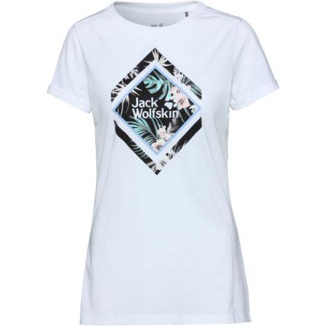 Jack Wolfskin Tropical Square T-Shirt Damen