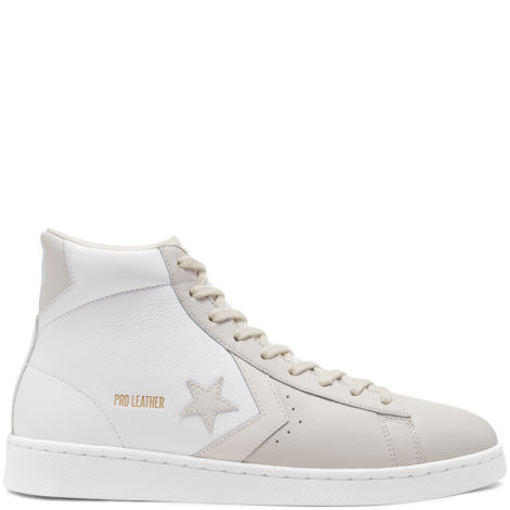Pro Leather Mid Top White