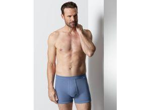 Walbusch Herren Thermo Shorts 2er Pack einfarbig Blau