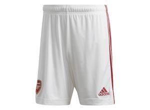 adidas FC Arsenal Herren Heim Short 2020/21 weiß/rot
