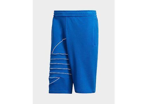 adidas Originals Big Trefoil Sweat Shorts - Royal Blue / White - Herren, Royal Blue / White