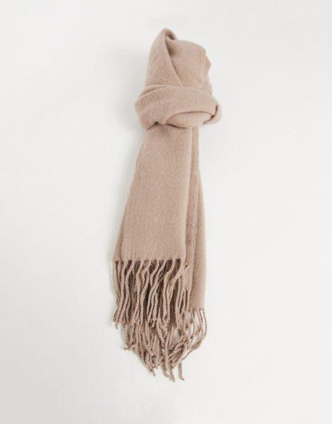 ASOS DESIGN - Superweicher Schal in Rosé-Rosa