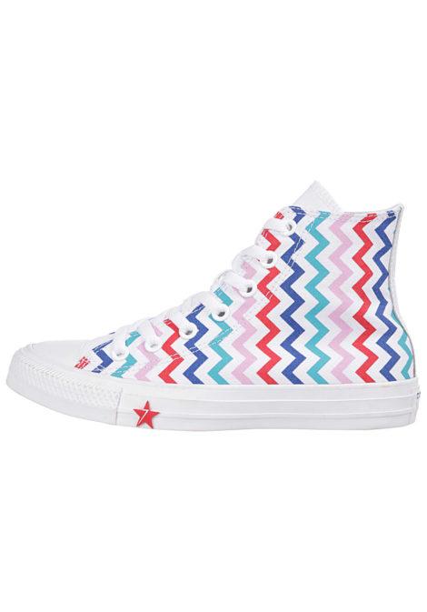 Converse Chuck Taylor All Star Pocket Hi - Sneaker für Damen - Weiß