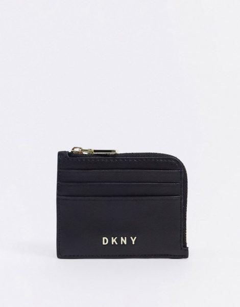 DKNY - Kartenetui in Schwarz