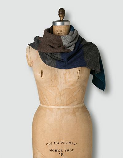 Damen Schal Lammwolle 052-0360-1-30200/2