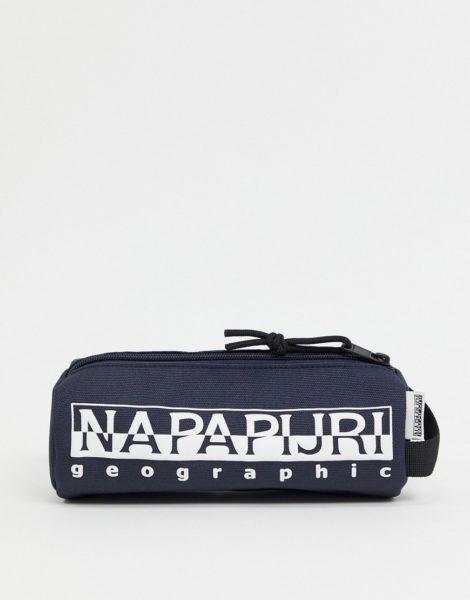 Napapijri - Happy - Federmäppchen in Marine-Blau