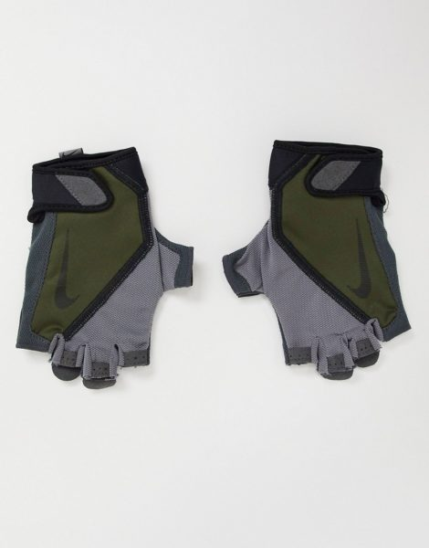 Nike - Elemental Fitness - Handschuhe für Herren in Khaki-Grün