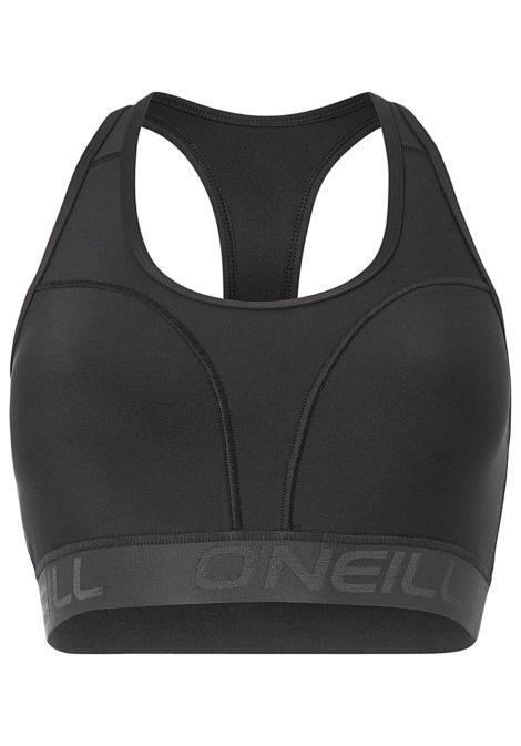 O'Neill Hybrid Low Impact Bra - Funktionsunterwäsche für Damen - Schwarz