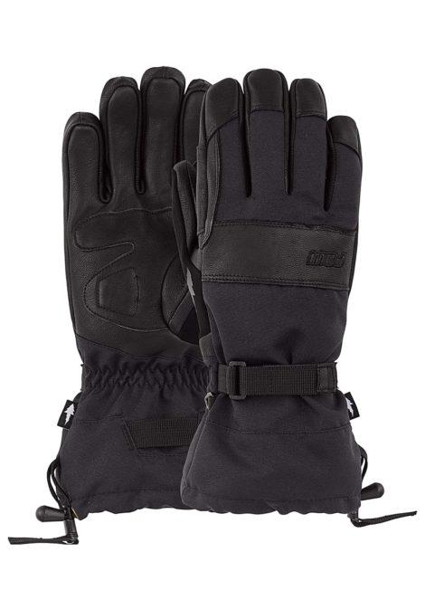 POW August Long Gauntlet - Snowboard Handschuhe für Herren - Schwarz