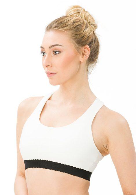 SUPER.NATURAL Tara Bra 220 - BH für Damen - Weiß