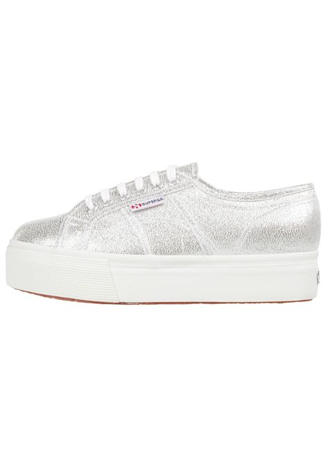 SUPERGA 2750 Lamew - Sneaker für Damen - Silber