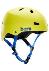 bern Macon H2O - Wakeboard Helm für Herren - Gelb