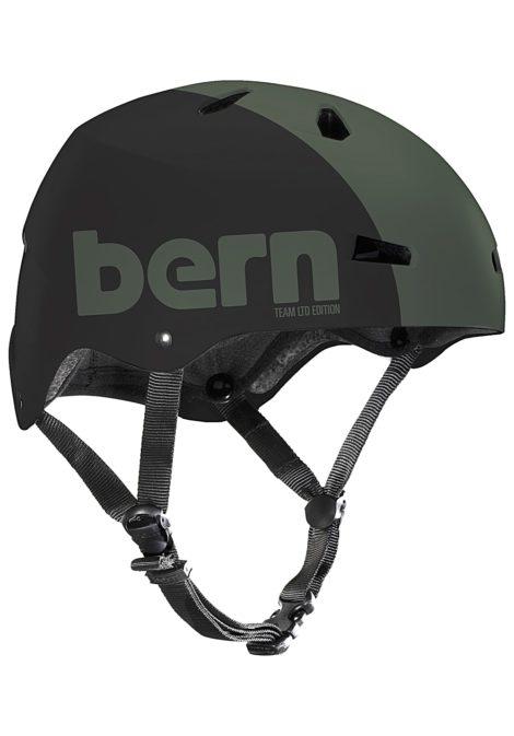 bern Macon H2O - Wakeboard Helm für Herren - Grün