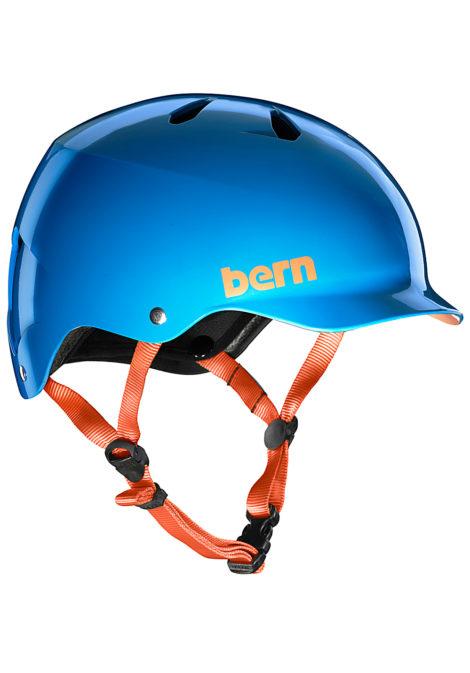 bern Watts H2O - Wakeboard Helm für Herren - Blau