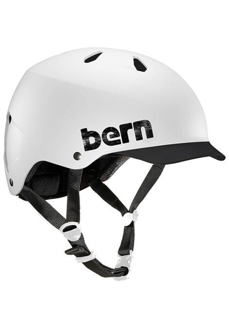 bern Watts H2O - Wakeboard Helm für Herren - Weiß