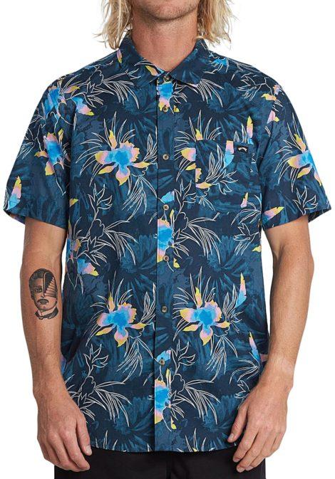BILLABONG Sundays Floral S/S - Hemd für Herren - Blau