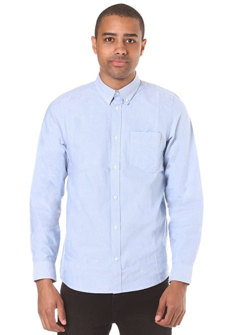 Carhartt WIP Button Down Pocket L/S - Hemd für Herren - Blau