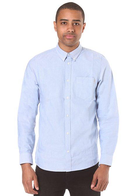 Carhartt WIP Button Down Pocket L/S - Hemd für Herren - Blau