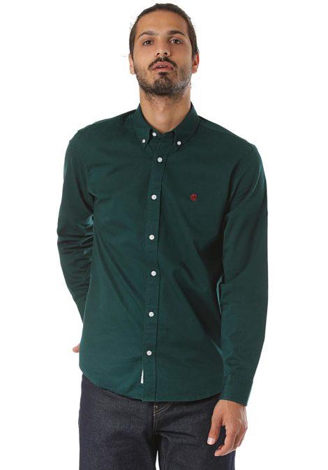 Carhartt WIP Madison L/S - Hemd für Herren - Grün