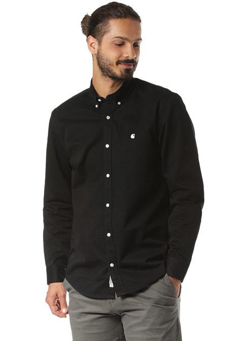 Carhartt WIP Madison L/S - Hemd für Herren - Schwarz