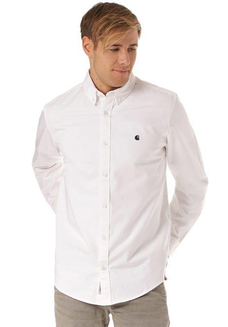 Carhartt WIP Madison L/S - Hemd für Herren - Weiß