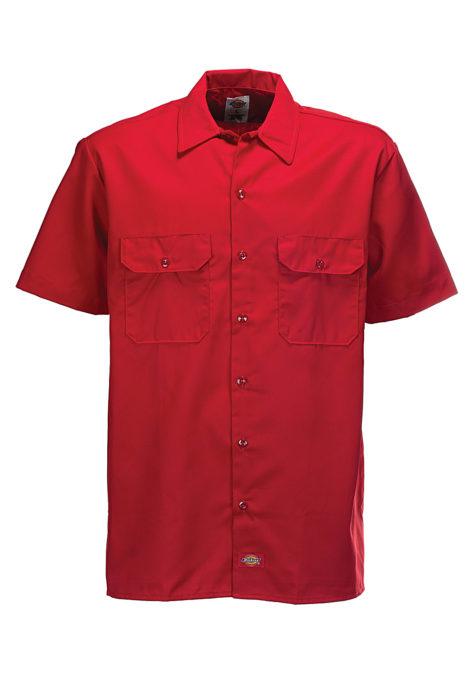 Dickies Work - Hemd für Herren - Rot