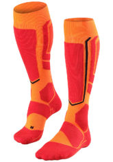 FALKE SB 2 - Snowboard Socken für Herren - Orange