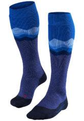 FALKE SK 2 Crest - Snowboard Socken für Herren - Blau
